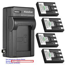 Kastar Battery Wall Charger for Canon NB-3L CB-2LU Canon Digital IXUS IIs Camera