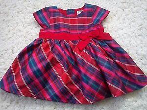 AMAZING XMAS PARTY OCCASION MARYLEBONE LONDON BHS BABY GIRL DRESS 0/3 MTHS