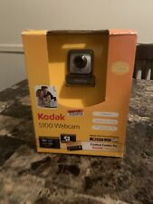 Kodax S100  Webcam 1.3 Mega Pixel Automatic Face Tracking Windows /Mac OS New