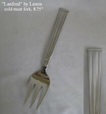 """New listing Lanford by Lenox Stainless Cold Meat Fork, 8.75"""" - New"""