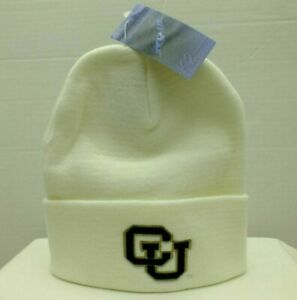 UNIVERSITY OF COLORADO BUFFALOES KNIT BEANIE WINTER SKI HAT NCAA College by TOW