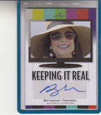 "2011 LEAF POP CENTURY BETHENNY FRANKEL ""REAL HOUSEWIVES OF N.Y."" AUTOGRAPH AUTO"