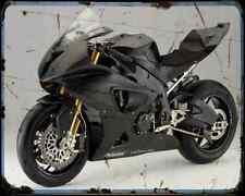 Bmw S100Rr A4 Metal Sign Motorbike Vintage Aged