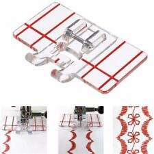 Clear Parallel Stitch Foot Presser for Brother Singer Domestic Sewing Machine FW