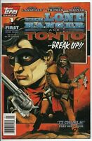 Topps Comics The Lone Ranger and Tonto Break Up #1 Aug. 1994 NM