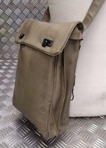 Genuine Vintage Military Officers Coyote Document Case/Shoulder Instrument Bag