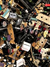 LOT 1 LB QUALITY GRAB BAG OF ALL NEW ELECTRONIC PARTS & COMPONENTS DIY