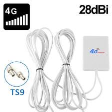 TS9 Connector 28dBi Gain 3G 4G LTE Antenna External WiFi Antenna Signal Booster