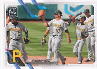 2021 Topps Series 1 #251 Pittsburgh Pirates Team Card