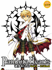 ANIME DVD PANDORA HEARTS Vol.1-25 End Region All Eng Subs + FREE DVD