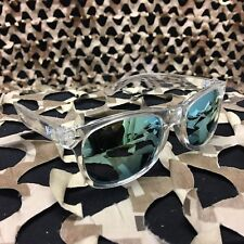 New Km Paintball Sunglasses - Clear w/ Mirror Lens