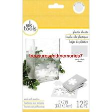 ek tools PLASTIC SHEETS 12 Total Pieces, Use w/ punches on a hard surface