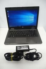 "HP ProBook 14"" Laptop 6475b AMD A4-4300M 2.50GHz 4GB Ram 320GB HDD DVD BT Win10"