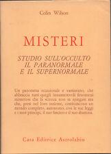 1979 – WILSON, MISTERI. STUDIO DELL'OCCULTO, IL PARANORMALE E IL SUPERNORMALE