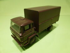 LION CAR DAF 2000 - DUTCH MILITARY TRUCK - ARMY GREEN 1:50 - EXCELLENT