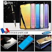 Etui housse coque Miroir View Plated Mirror Case Cover Samsung Galaxy Collection