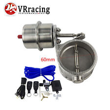 """2.4"""" 60mm Vacuum Activated Exhaust Cutout Valve Close Style With Remote Control"""