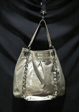 "COACH HANDBAG""K0993-14638""GOLD METALLIC SHIMMER LEATHER  HOBO RETAIL 595.00 U.S."