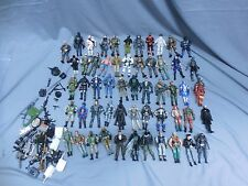Lot Of 55 Modern Gi Joe & Cobra Action Figures W/Accessories Hasbro Snake Eyes