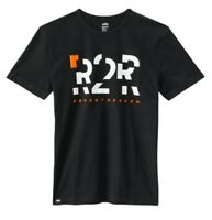 KTM Mens R2R Short sleeve T-Shirt Black White Tee New RRP 26.28!!
