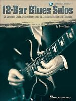 12-bar Blues Solos : 25 Authentic Leads Arranged for Guitar in Standard Notat...