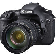 NEW! CANON EOS 7D 18MP SLR DIGITAL CAMERA WITH 28-135mm LENS KIT