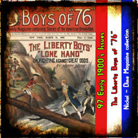 Liberty Boys of 76 - American Revolutionary War stories -dime mag- 97 issues