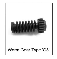 Electronic Actuator Repair Worm Gear  BRAND NEW - PRODUCED BY US HERE IN THE UK