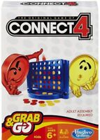 Connect 4 Grab and Go Game Travel Size By Hasbro
