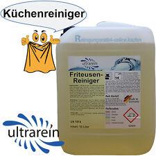10l Liter Friteusenreiniger Profi Fettlöser Gastronomiereiniger Reinigungsmittel