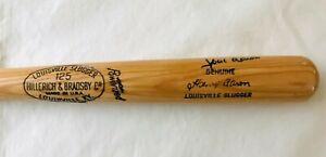 """HANK AARON Signed 35"""" Louisville Slugger H&B 125 A99 Game Model Bat - Beckett"""
