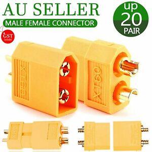 6-20 Pairs XT60 XT90 RC XT-90 Male Female Bullet Connector Plug for Lipo Battery