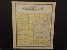 Michigan Clare County Map Hamilton  Township c.1905    J14#29
