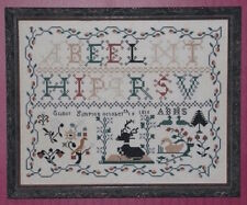 10% Off Historic Stitches Counted X-stitch chart - Elinor Simpson 1815 Sampler