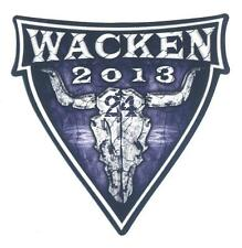 Wacken 2013  -  Aufkleber - unbenutzt - Schönes Sammlerstück