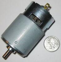 12 V DC Hobby Motor / Generator - 120 Watt - 775 Frame Size - 18,000 RPM -  10 A