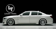 BMW 7 Series F01 F02 Stainless Chrome Pillar Posts by Luxury Trims 2009-2017 6pc