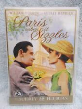 PARIS WHEN IT SIZZLES(WIDESCREEN COLLECT AUDREY HEPBURN WILLIAM HOLDEN PG R4