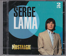 DOUBLE CD 40T SERGE LAMA NOSTALGIE BEST OF 2014 NEUF SCELLE