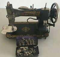 White Rotary Sewing Machines Antique