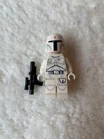 LEGO - Star Wars - Rare - White Boba Fett Minifig (Prototype) - New