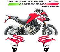 Kit adesivi per fiancate Ducati Multistrada 1200 Enduro