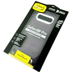 OtterBox for Samsung Galaxy S10 Defender Pro Series Purple Nebula Factory Sealed