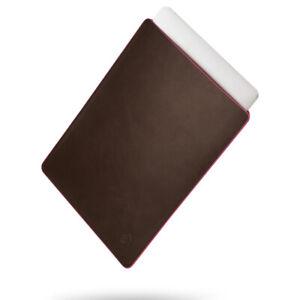 "Laptop Case Bag Sleeve 13.3"" 16 Inch Macbook Pro M1 2021 NEW Genuine Leather UK"