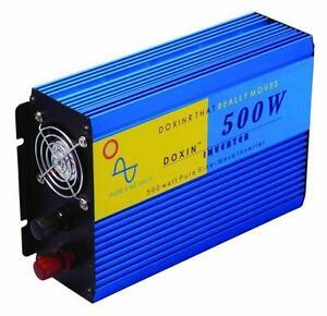 500W / 1000W Inverter Pure Sine Wave Power DC 24V AC 220V 210V 230V 240V freezer