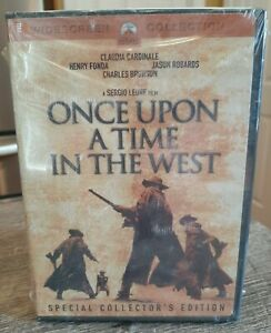 NEW Once Upon A Time In The West Special Collectors Edition DVD 2 Disc Set Wide