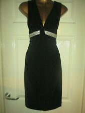 Black Evening Cocktail Dress by Heine.......Size 8   RRP £85