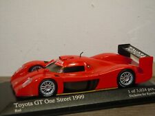 Toyota GT One Street 1999 - Minichamps 1:43 in Box *37298