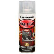 High Heat Spray Paint Enamel Gloss Clear Automotive Car Metal Auto Can (6-Pack)