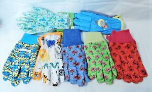 Kids Children Garden Gardening Gloves 1 Pair You Pick 1